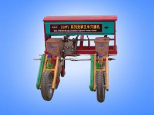 Two line no tillage precision corn sowing machine