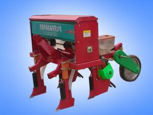 Two row no tillage precision corn sowing machine