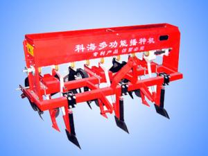 Wheat and corn sowing machine